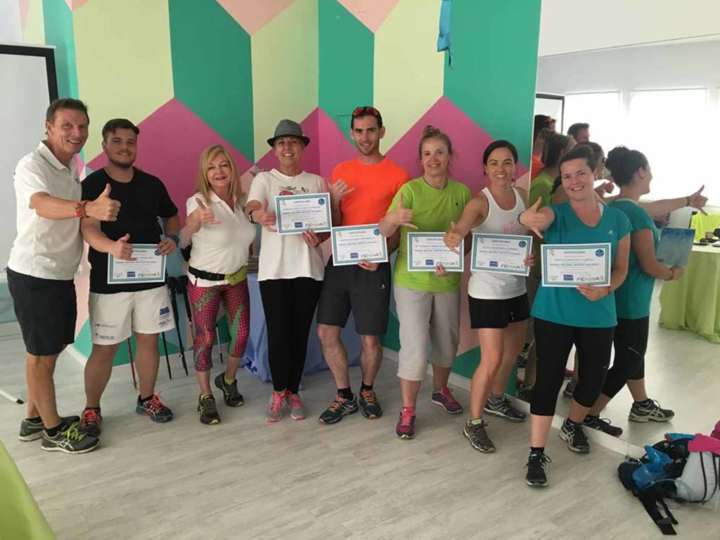 Instructor de Nordic Walking Nivel 1 Majadahonda