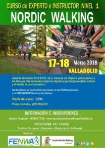 Curso de Instructor de Nordic Walking en Valladolid