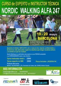 Curso de instructor o experto de Nordic Walking en Barcelona