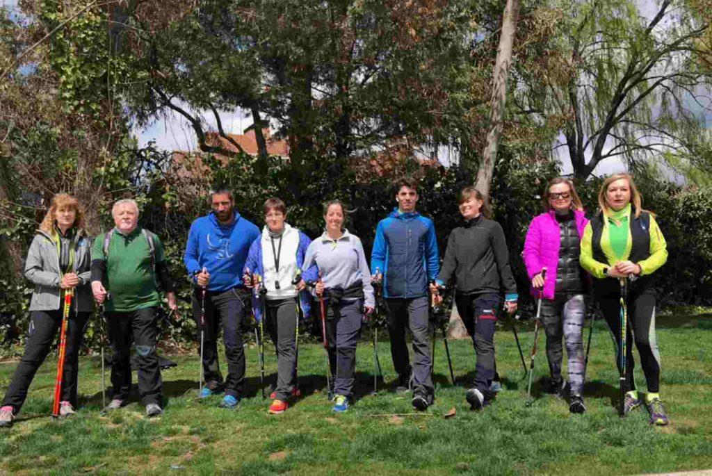 Curso de instructor de Nordic walking en Madrid