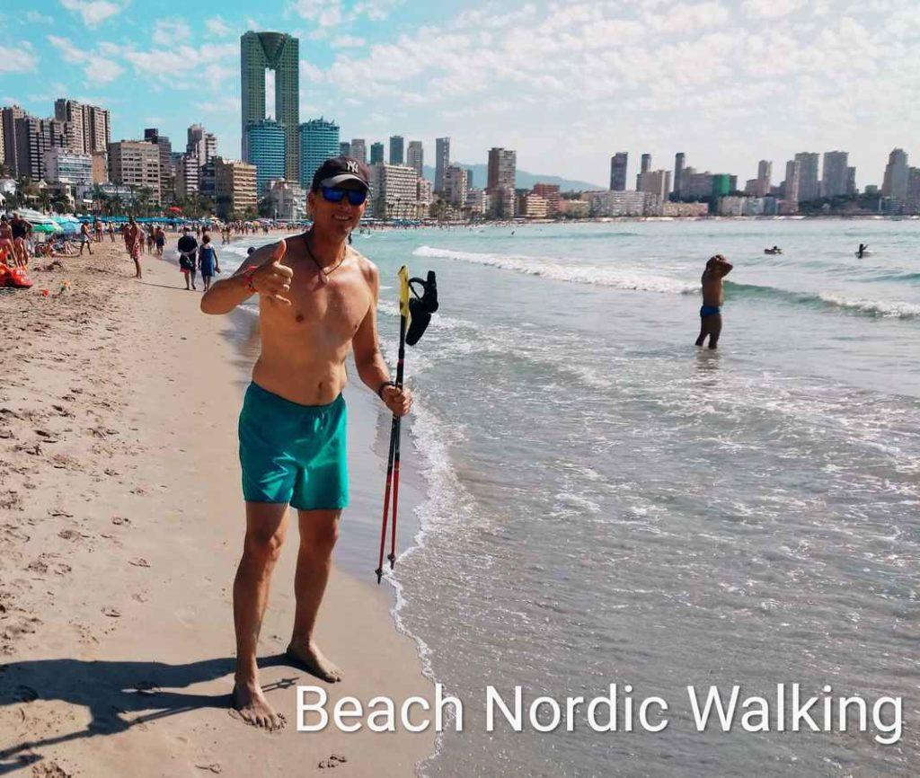 Practica Beach Nordic Walking