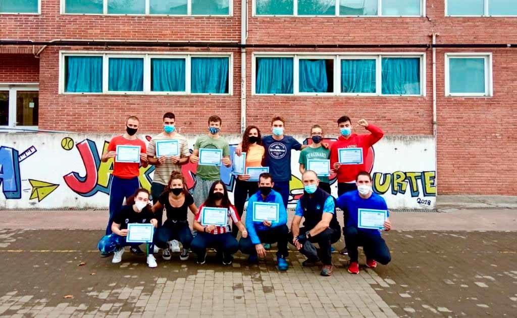 Alumnos Curso Tafat País Vasco