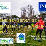 Formadores ENWA 2021 Nordic Walking