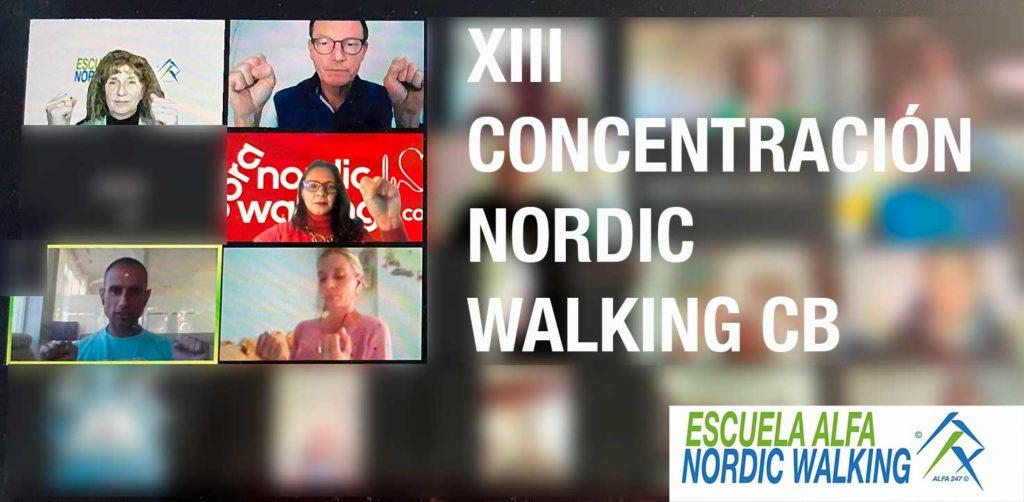 XIII Concentracion de Nordic Walking